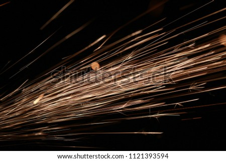 Abstract background of sparkling light lines. #1121393594