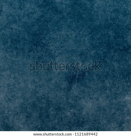 Blue designed grunge texture. Vintage background with space for text or image #1121689442