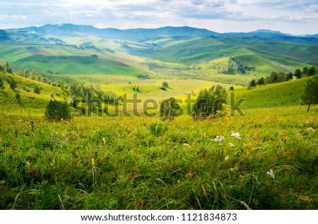 Mountain landscape. Altai. Russia. #1121834873