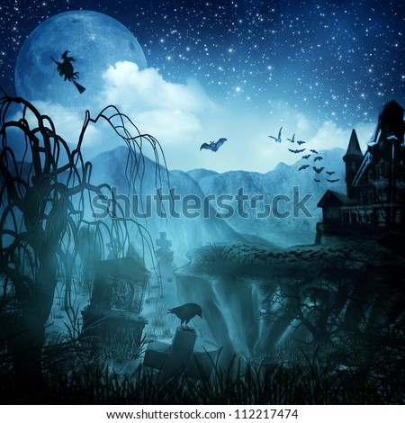 Abstract Halloween backgrounds for your design #112217474