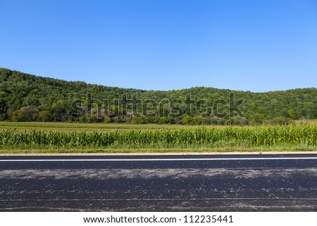 American Country Road Side View #112235441