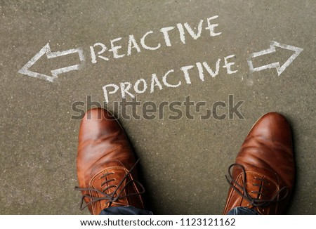 Time to decide: Reactive and Proactive #1123121162