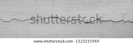 crack wall texture Royalty-Free Stock Photo #1123211969