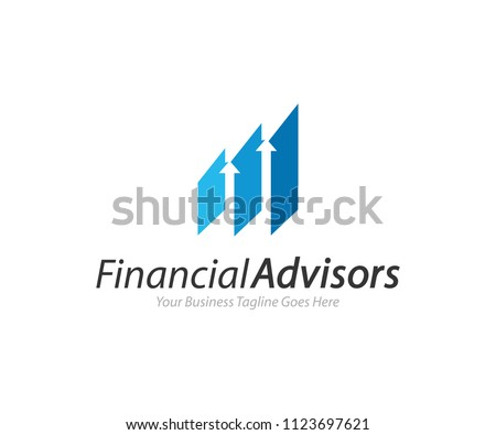 Financial Advisors Logo Design Template Vector Icon #1123697621