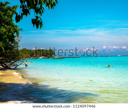 Feels like paradise in the beautiful island of Koh Phi Phi  #1124097446