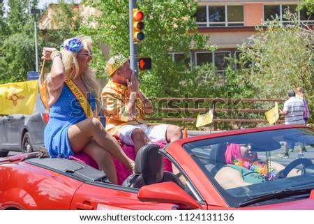 2018 Santa Fe New Mexico Gay Pride Parade #1124131136