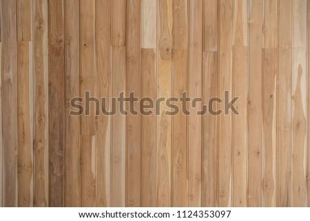 A teak wood plank use for presentation background #1124353097