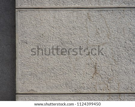 Light gray plaster with cracks. Beautiful wall texture #1124399450