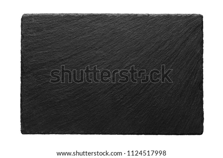 stone board for cheese on white background