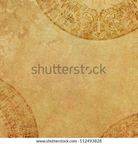 Old aztec background