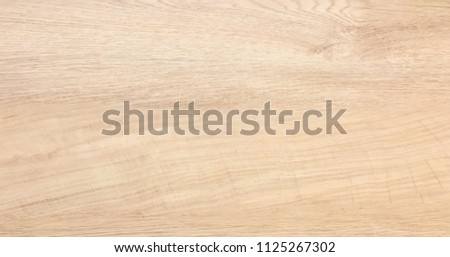 wood background texture, light weathered rustic oak. faded wooden varnished paint showing woodgrain texture. hardwood washed planks background pattern table top view. #1125267302