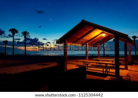Shed on the Beach #1125304442