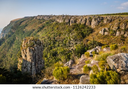 The Pinnacle, Mpumalanga region near Graskop.  Blyde river canyon, South Africa #1126242233