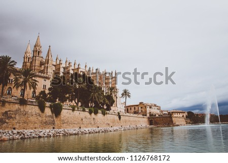 La Seu Cathedral, Palma de Mallorca, Spain. #1126768172
