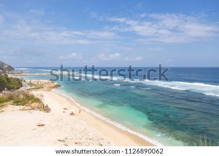 Bali Indonesia coastline #1126890062