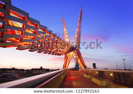 Skydance Bridge - Scissortail Oklahoma City