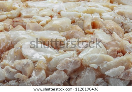 folia ( traditional egyptian sweets made from mixing peanuts with honey ) #1128190436