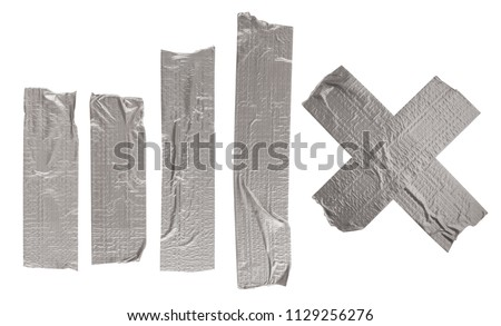 Adhesive tape isolated on white background #1129256276