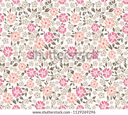 cute small flower pattern on crime #1129269296