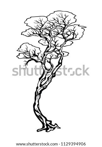 Traditional chinese tree #1129394906