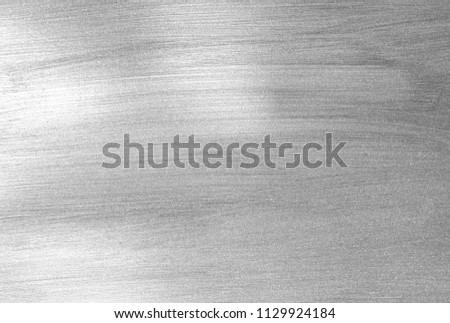 Shiny leaf silver foil paper background texture #1129924184