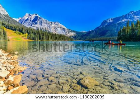 Emerald Lake,Yoho National Park in Canada #1130202005