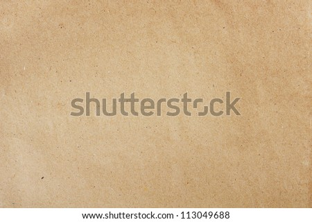 Old brown paper texture Royalty-Free Stock Photo #113049688