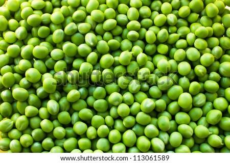 Green Peas background texture vegetable #113061589
