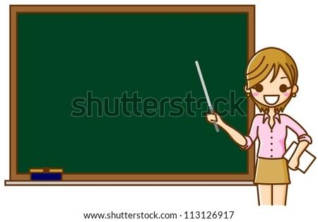 Blackboard teacher