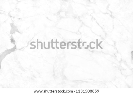 White background marble wall texture for design art work, seamless pattern of tile stone with bright and luxury. #1131508859