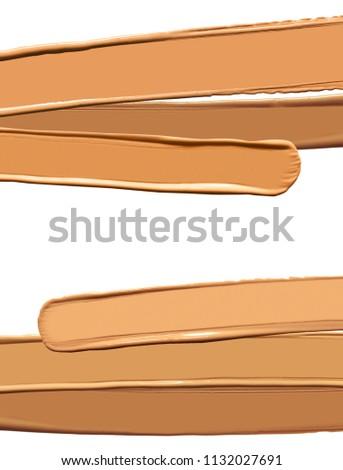 Make up bb cc cream or foundation smudge #1132027691