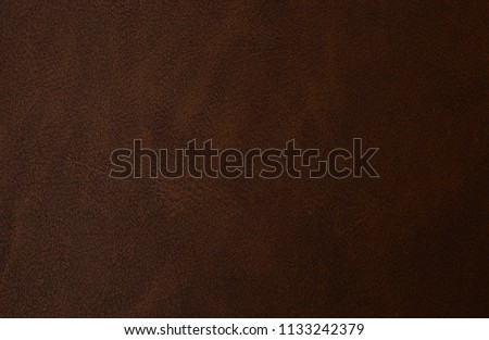 Brown leather texture #1133242379