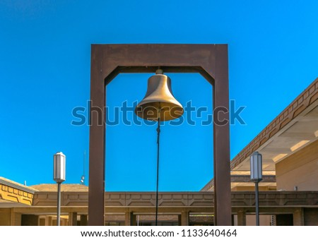 Bell of a government building in Provo #1133640464
