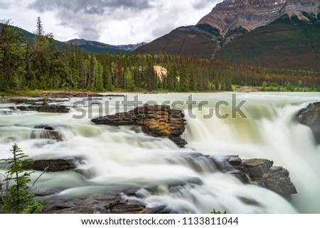 Images of Athabasca Falls #1133811044