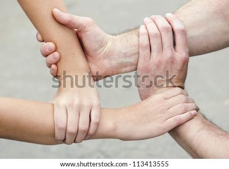 4 hands #113413555