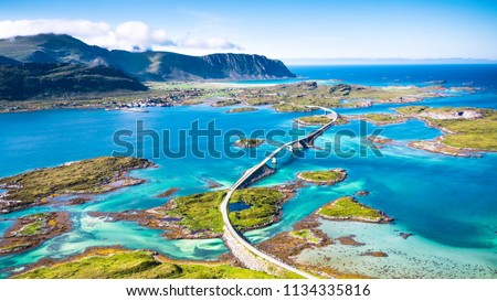 Atlantic Ocean Road, Norway #1134335816