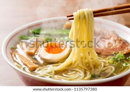 Delicious ramen in Japan #1135797380