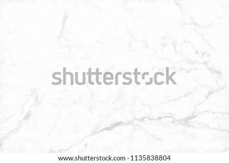 White background marble wall texture for design art work, seamless pattern of tile stone with bright and luxury. #1135838804