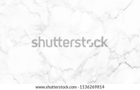 White marble texture for design pattern artwork. #1136269814