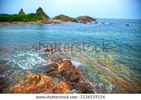 Co To Island in North of Vietnam Royalty-Free Stock Photo #1136519156