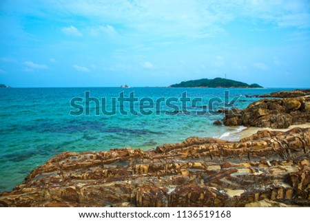Co To Island in North of Vietnam Royalty-Free Stock Photo #1136519168