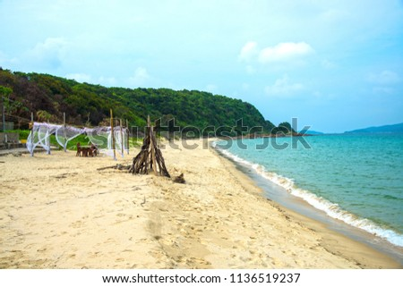 Co To Island in North of Vietnam Royalty-Free Stock Photo #1136519237