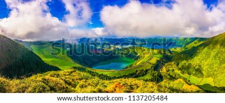 Azores,Ponta Delgada,São Miguel,Portugal #1137205484