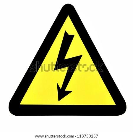 High Voltage Sign, Symbol