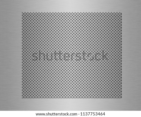 Stainless steel plate or metal texture background #1137753464