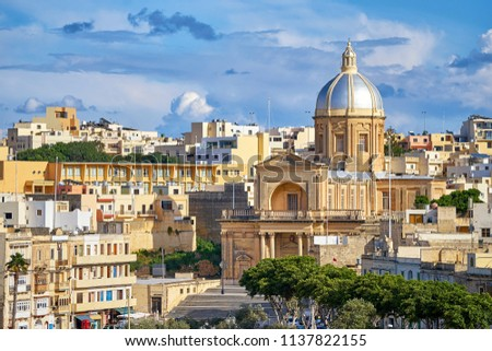 St Joseph Church in Kalkara city, Malta #1137822155