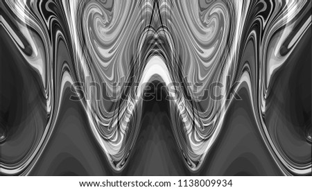Monochrome illustration of a background image for a site with lines and stripes. Flare, Graphic and Flowing. #1138009934