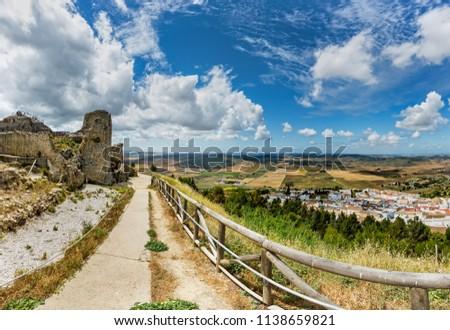 Castle ruins of Medina-Sidonia. #1138659821