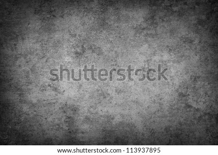Grey grunge textured wall. Copy space Royalty-Free Stock Photo #113937895