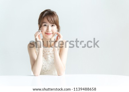 Beauty concept of asian girl. #1139488658
